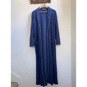 Vintage Christian Dior | Fleece Blue Robe